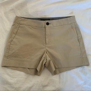 Banana Republic Khaki Hampton Fit shorts
